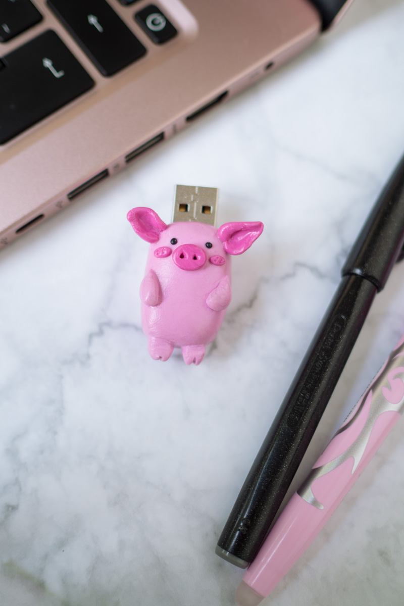 DIY // Fimo USB-Stick