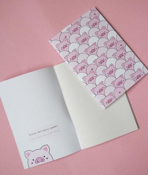 Notibuch Schweinchen