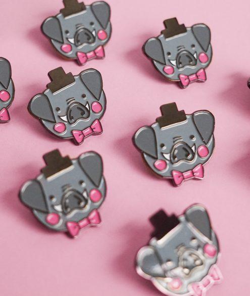 Pin Herr Schwein