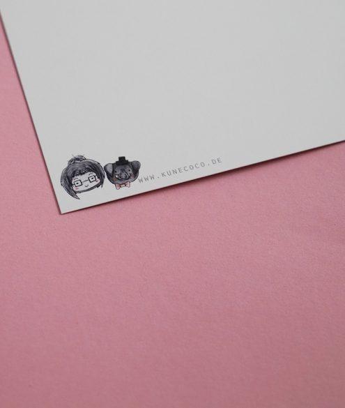 Postkarte Rückseite