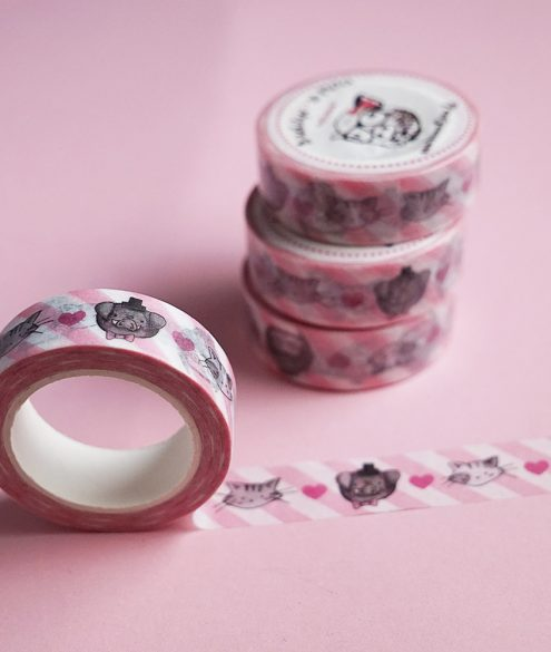 Washitape rosa