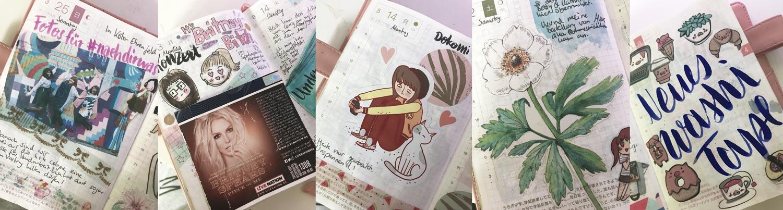 KuneCoco • Hobonichi Ideen, wenn du nicht viel Zeit hast
