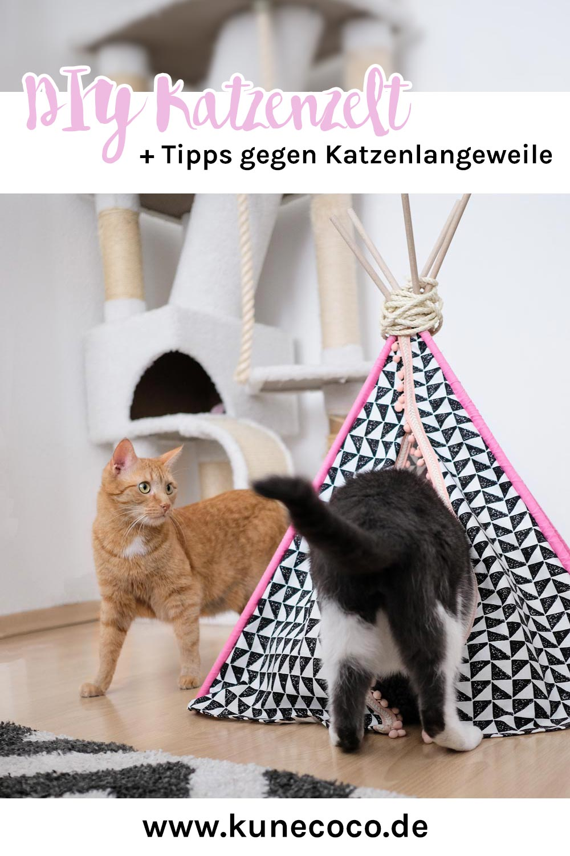 KuneCoco • FELIX • DIY Katzenzelt