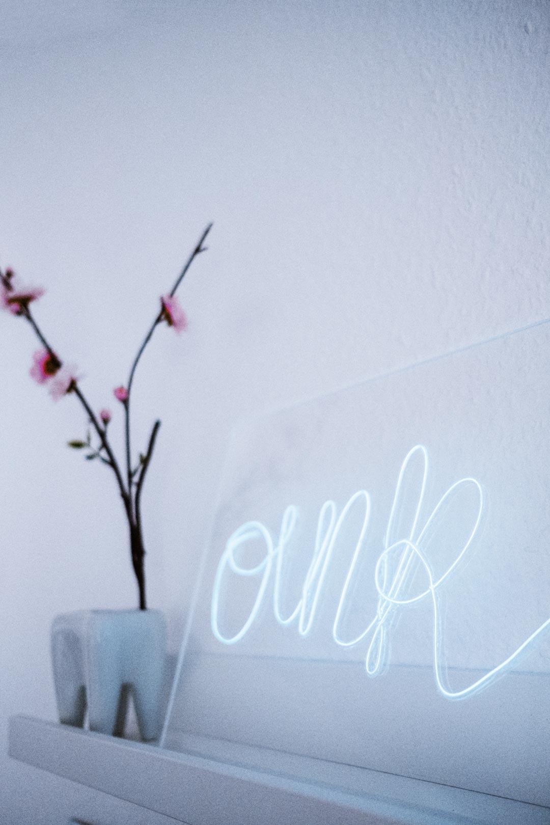 KuneCoco • DIY Neonschild mit Acrylglas