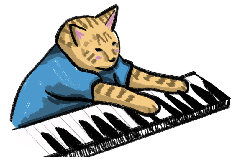 KuneCoco • Katzen Memes • Keyboard Cat