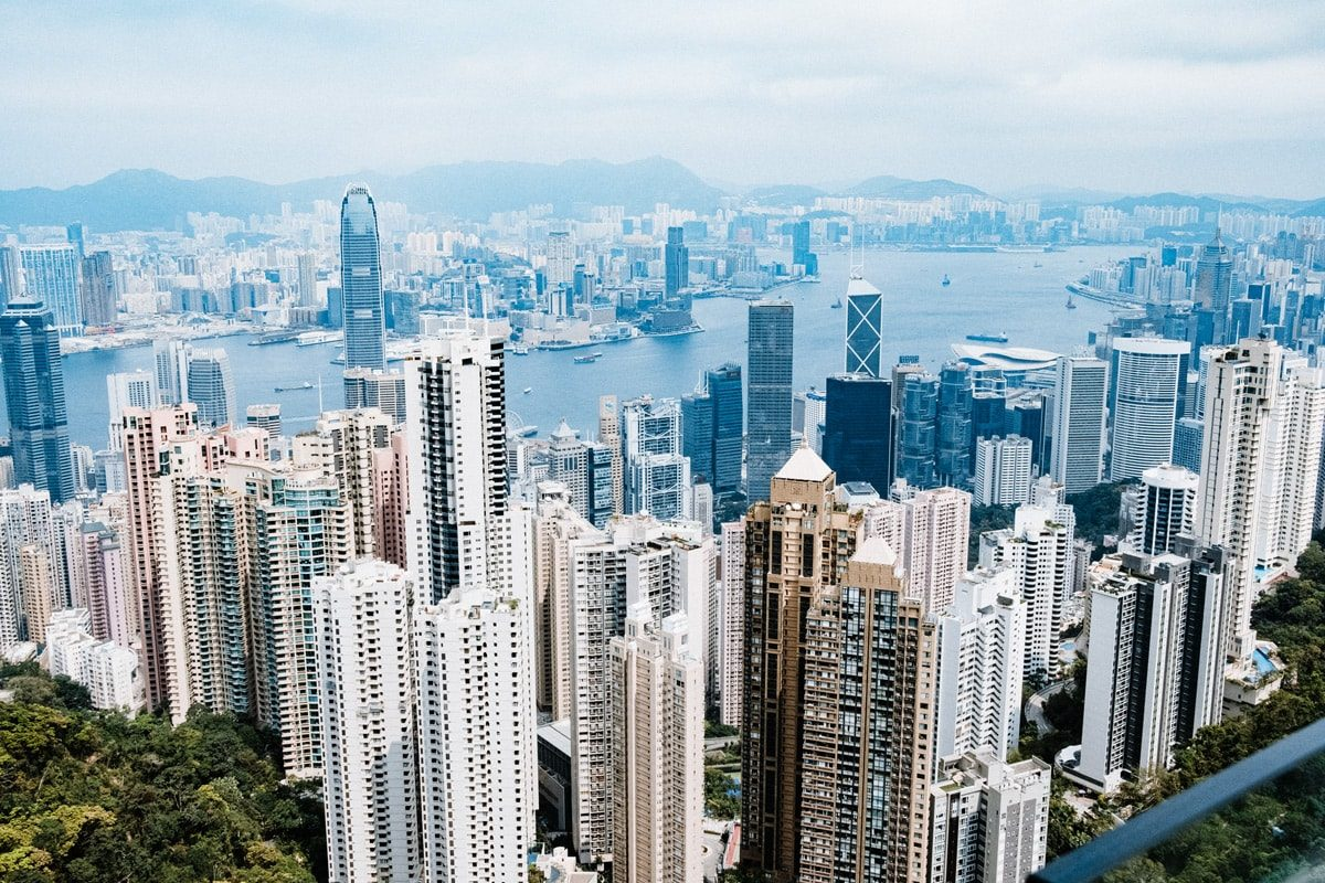 Hongkong – Hinkommen, ankommen