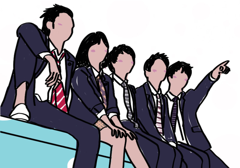 Meteor Garden Illustration