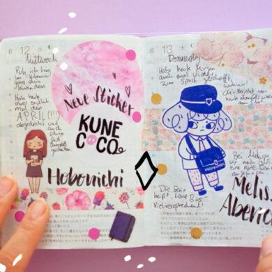 KuneCoco • Hobonichi Flipthrough Juni 2019
