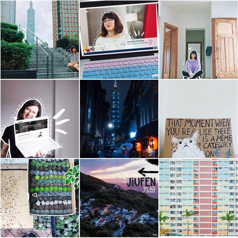 Jahresrückblick 2019 • Instagram Top 9